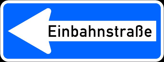 Einbahnstrasse_Wegekonzept